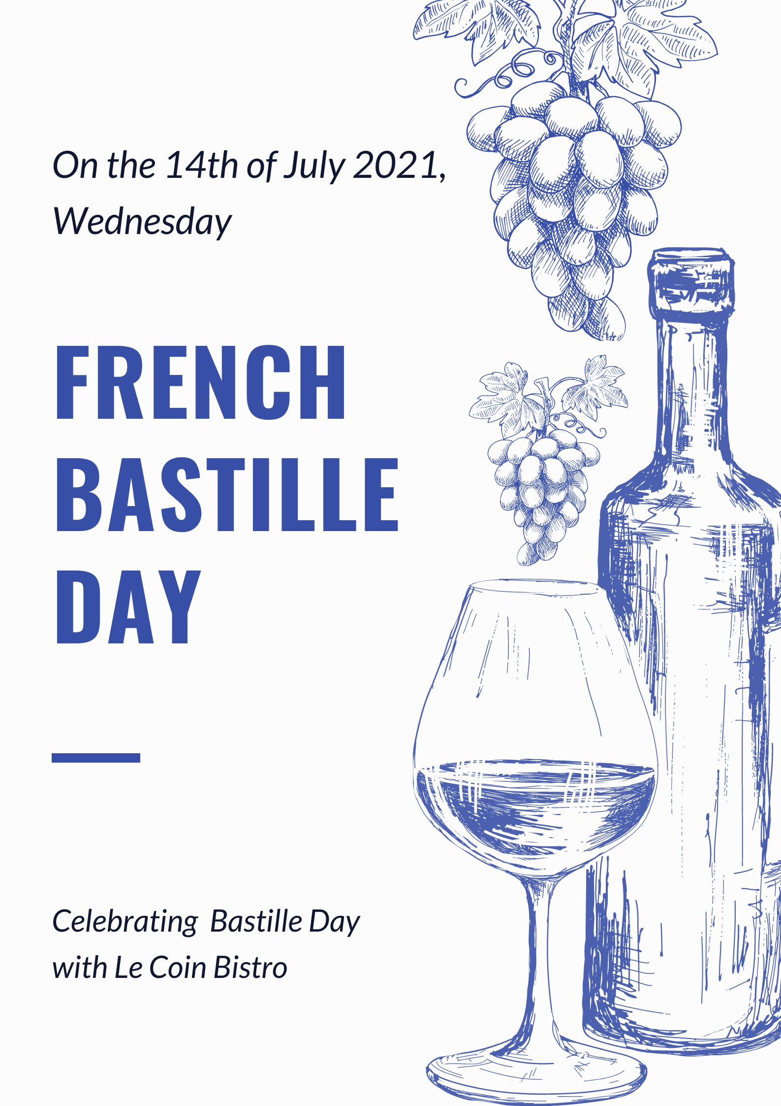 Le Coin Bistro Bastille Day